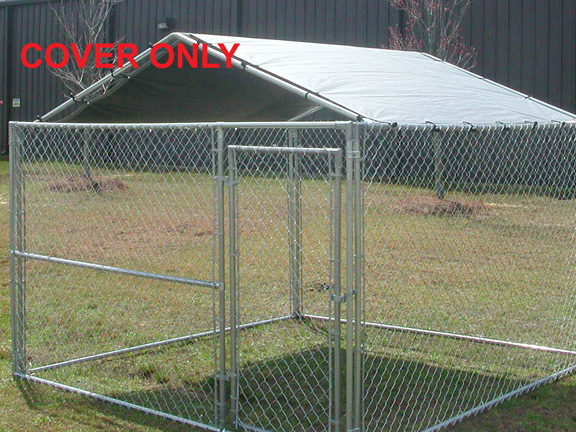 King Canopy Silver Dog Kennel Replacement Tarp 10 Foot X