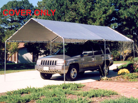 Car canopy replacement tarp