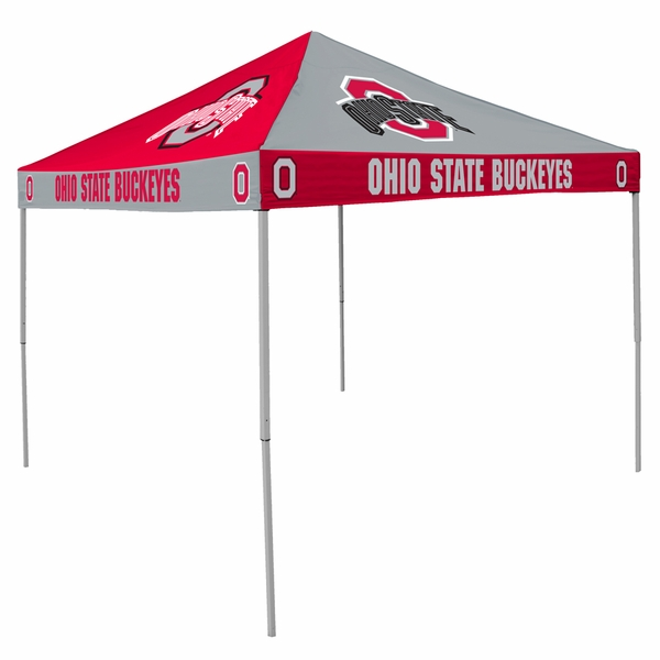 Ohio State Buckeyes Tailgate Tent Canopy Checkerboard