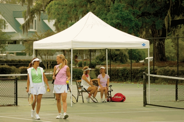 Shelterlogic 10 X 10 White Pop Up Canopy Tent With Open
