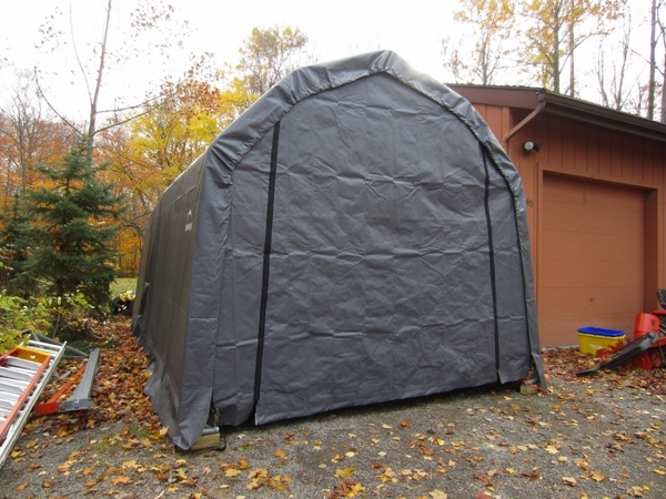 Shelterlogic 12 X 24 X 11 Barn Style Portable Garage