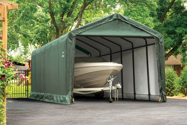 Shelterlogic 12x30x11 Sheltertube Snow Load Rated Shelter