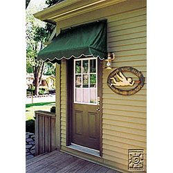 Sunsational 4' Width Traditional Door Canopy Awning