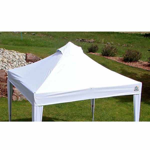 Undercover 300 Denier White Polyester Canopy Top For 10
