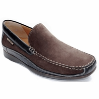 Baduard Dark Brown Nubuc