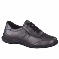 NEW!!! Laser Perf Gray Perl Calfskin
