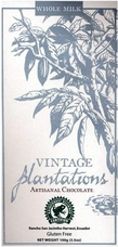 Plantations Milk Chocolate Bar 100g/3.5oz.