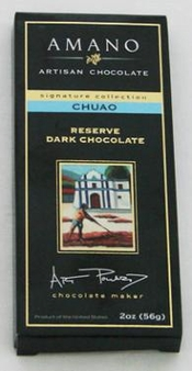 Amano Chuao 70% Cocoa, Reserve Dark Chocolate Bar, 2oz / 56g (6 Pack)