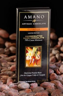Amano Cuyagua 70% Cocoa, Dark Chocolate Bar, Limited Edition, 2oz / 56g (12 Pack)