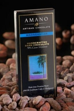 Amano Madagascar 70% Cocoa, Dark Chocolate Bar, 2oz / 56g