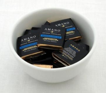 Amano Madagascar 70% Cocoa, Dark Chocolate Squares, (25 Piece Bag)