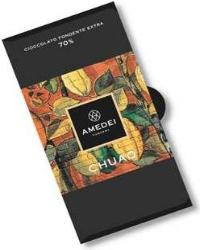 Amedei Chuao Dark Chocolate Bar, 70% Cocoa, 50g/1.75oz (Single)