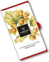 Amedei Milk Chocolate with Hazelnuts Chocolate Bar, 50g/1.75oz (6 Pack)