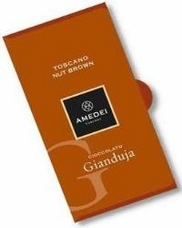 Amedei Toscano Nut Brown, Chocolate Gianduja, 50g/1.75oz (12 Pack)