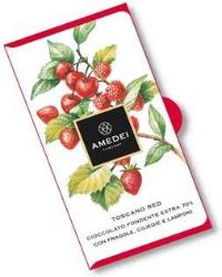 Amedei Toscano Red Chocolate Bar, 70% Cocoa, 50g/1.75oz (6 Pack)