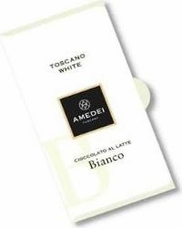 Amedei Toscano White Bianco Chocolate Bar, 50g/1.75oz (12 Pack)