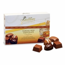 Butlers Famous Irish Chocolate Truffles, Irish Cream Liqueur, Irish Whiskey, Irish Coffee & Potcheen Chocolate Truffles 125g/ 4.41oz