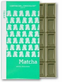 Artisan du Chocolat Matcha Tea White Bar, 45g/1.59oz