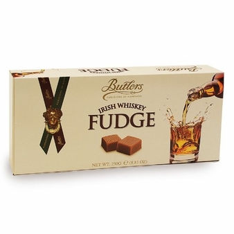 Butlers Irish Whiskey Fudge 250g / 8.81 oz (6 Pack)