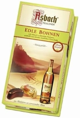 Asbach Edle Bohnen, Brandy-filled Beans, Gift Box, 200g/7.05oz