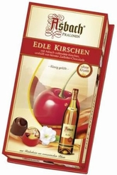 Asbach Edle Kirschen Chocolate Brandy Cherries, 7.05oz/200g.