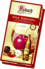 Asbach Pralinen Chocolate Brandy Cherries 3.5 oz/100g  (Single)