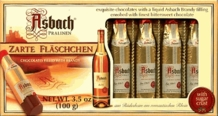 Asbach Zarte Fl�schchen, 8 Brandy-filled Pralines, Gift Box, 100g / 3.5oz  (Single)