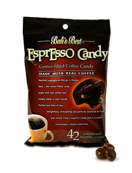 Balis Best- Espresso Candy, 5.3oz/150g (6 Pack)