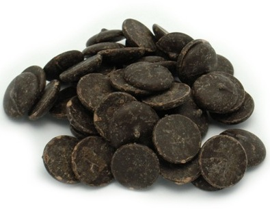"Belcolade Belgian Chocolate - Cocoa Mass Discs, ""Noir Absolu - Ebony"", 99.5% Cocoa, (Repackaged,2lb)"