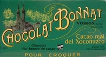 "Bonnat Chocolate - ""Cacao Real del Xoconuzco"", Bittersweet Dark Chocolate, 75% Cocoa, 100g/3.5oz(5 Pack)"