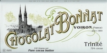 "Bonnat French Chocolate - ""Trinite"" 75% Cocoa Dark Chocolate, 100g/3.5oz. (Single)"
