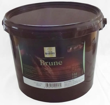 """Cacao Barry Dark Chocolate """"Brune"""" Compound Coating, 5kg/11lb."""