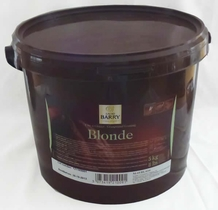 """Cacao Barry Milk Chocolate """"Blonde"""" Compound Coating, 5kg/11lb."""