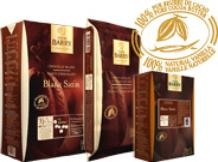 """Cacao Barry White Chocolate """"Blanc Satin"""" Pistoles (Discs) , 29.2% Cocoa, Repackaged, 1 Pound"""