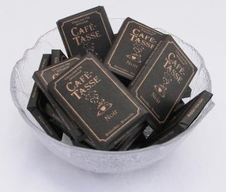 Cafe-Tasse Chocolate Mini Bars - 9g Squares