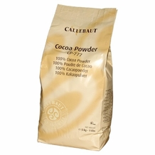 "Callebaut Belgian Chocolate - ""Belgian Cocoa Powder 22-24% Fat Content"", 1kg/2.2lbs Original Callebaut Packaging"
