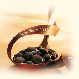 """Callebaut (Finest Selection) Chocolate, """"Kumabo"""" Extremely Dark Chocolate Extra - Bitter """"Chips"""", Chocolate Chips, 80.1% Cocoa, 2lb. Repackaged"""