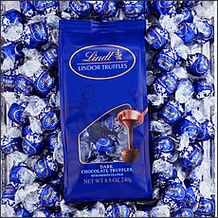 Basket - Lindt Dark Chocolate Truffle (blue wrap) 120 Pieces