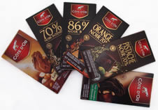 Cote d�Or Bar Samplers