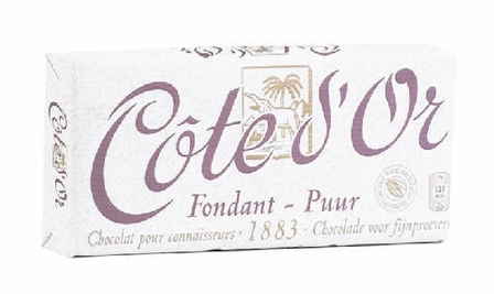 "Cote d'or Belgian Chocolate - Belgian Dark Chocolate ""Fondant-Puur"" 30% Cocoa, 150g/5.29oz. (24 Pack)"