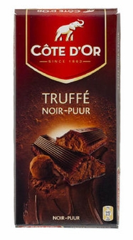 Cote d'or Belgian Chocolate - Truffee Noir Belgian Dark Chocolate Confection 190g/6.7oz. (5 Pack)