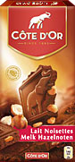 "Cote d Or Belgian - ""Milk Chocolate with Whole Hazelnuts"", 32% Cocoa 7.05oz./200g"