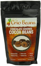 "Crio Beans ""Chocolate Covered Cocoa Beans"", 8 oz. (Single)"