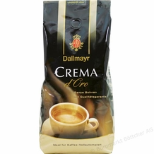 Dallmayr-Crema d'Oro Whole Beans, 17.6oz/500g (Single)