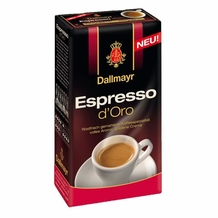 Dallmayr- Espresso d'Oro, 8.8oz/250g (Single)