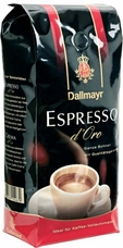 Dallmayr- Espresso d'Oro Whole Beans, 17.6oz/500g (Single)