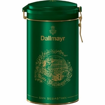 Dallmayr- San Sebastian Green Gift Tin,17.6oz/500g (Single)