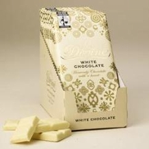 "Divine ""Fair Trade"" 26% White Chocolate, 100g/3.5oz. (10 Pack)"