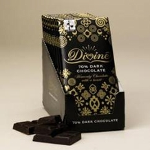 "Divine ""Fair Trade"" 70% Dark Chocolate, 100g/3.5oz.  (10 Pack)"