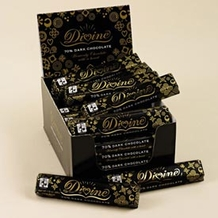 "Divine ""Fair Trade"" 70% Dark Chocolate, 45g/1.5oz. (Single)"